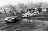 020. Nr.51.Pirkka Syvanoro i Arto Tenhunen - Fiat Uno Turbo