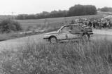 007. Rudiger Pritzkow i Uta Lautmann - Lancia Delta HF Turbo.