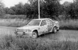 013. Peter Rumpfkeil i Gunter Jarecki - Mercedes Benz 190E 2.3-1