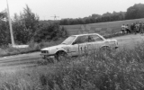 015. Thomas Dahn i Rosemarie Malm - BMW 325i.