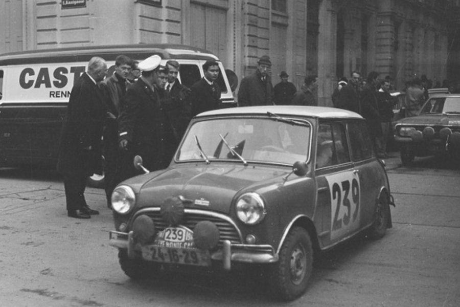 Johnny Hallyday Alfa Romeo >> 36 Rallye Monte Carlo (MC). 1 eliminacja. 15-22.01.1967r.