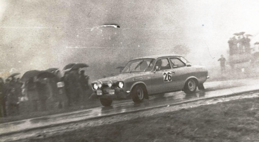 Hans Britth i Willy Anderson – Ford Escort RS 2000.