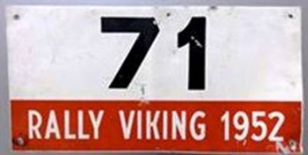 1 Viking Rally 1952