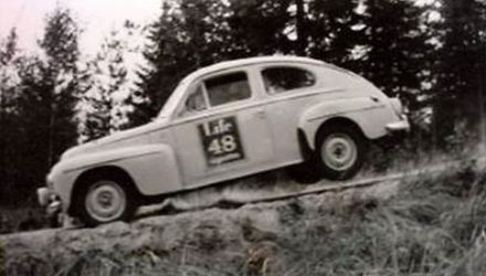 Tom Trana i Gunnar Thermenius – Volvo PV 544.