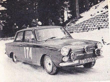 Geoffrey Mabbs i Phillip Crabtree – Ford Cortina.