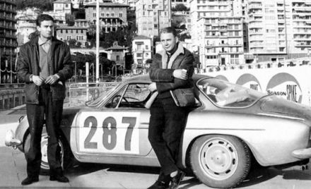 Jacques Cheinisse i Bernard Trammont – Alpine Renault A 108.