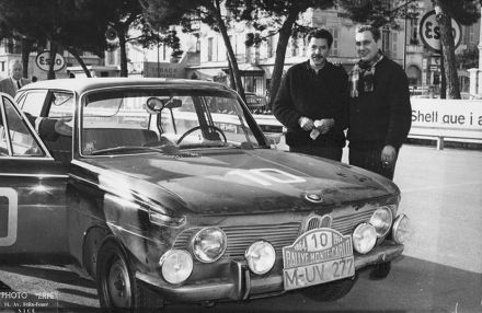 Wolfgang Levy i Heniz Walther – BMW 1800.