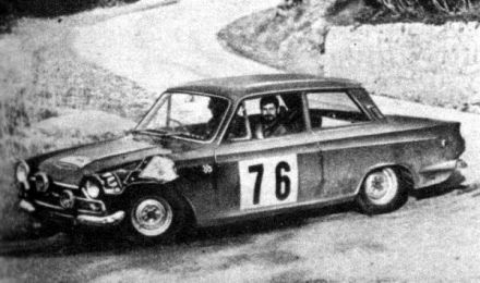 Seigle Morris i Nash – Ford Lotus Cortina.