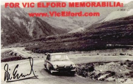Vic Elford i David Stone – Ford Lotus Cortina.