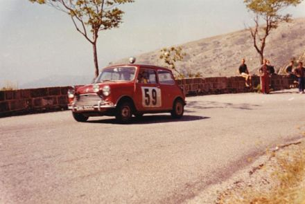 Tony Fall i J.Wood – BMC Mini Cooper S.