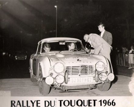 Rally de Touquet. 16-17.07.1966r.