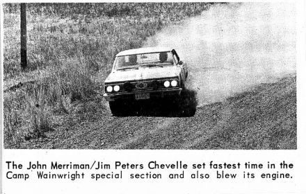 6 Shell 4000 Cross-Canada Rally.  30.04-6.05.1966r.