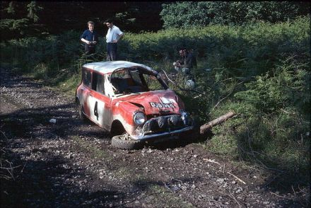 Tony Fall / Mike Wood – BMC Mini Cooper S.