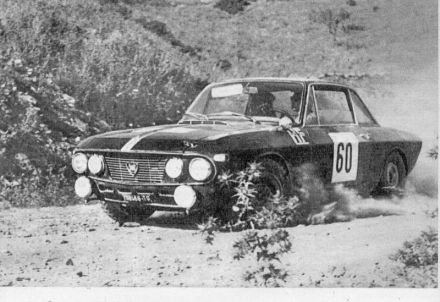 Leo Cella – Lancia Fulvia HF coupe.