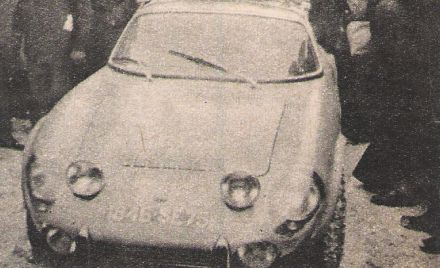 Johnny Servoz Gavin i Claude Le Guezec – Matra Simca Sports. (Motor 5 / 1966)