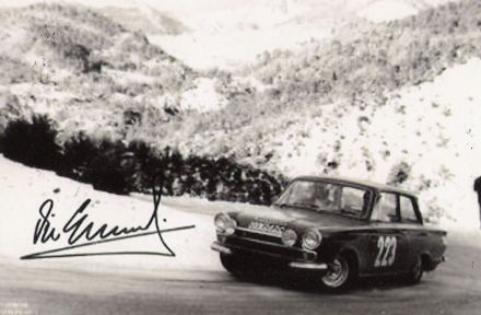 Vic Elford i John Davenport – Ford Lotus Cortina.
