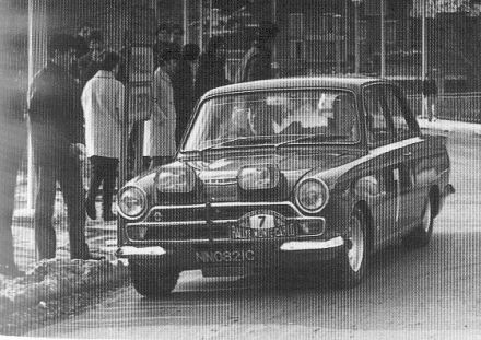 Peter Procter i David Mabbs – Ford Cortina Lotus.