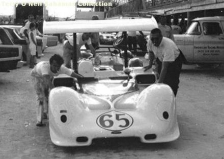 Hap Sharp – Chaparral 2E Chevrolet.