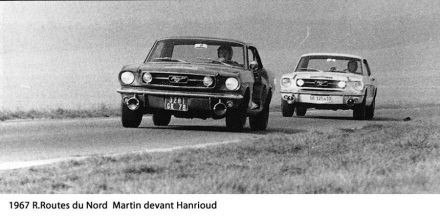 Martin Hanrioud i Rey – Ford Mustang.