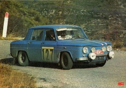 Harry Kallstrom - Renault 8 Gordini