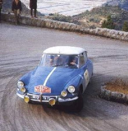 Lucette Pointet i Jacques Fougeray - Citroen DS 21