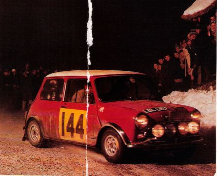 Timo Makinen i Paul Easter - BMC Mini Cooper S