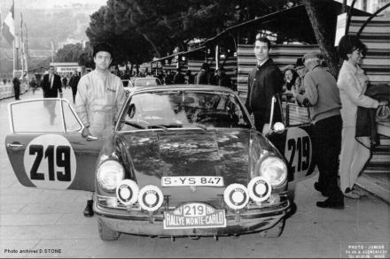Vic Elford i David Stone - Porsche 911 S