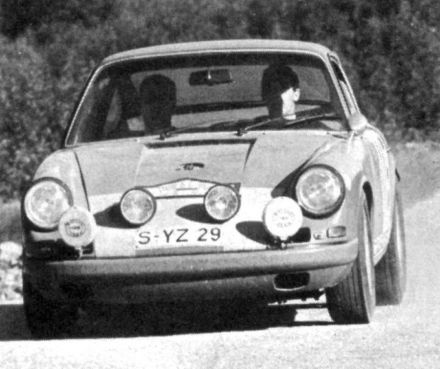 Vic Elford i David Stone – Porsche 911S.