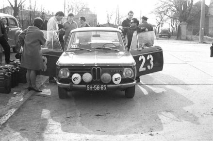 Antoni Weiner i Jan Karel – BMW 1600.