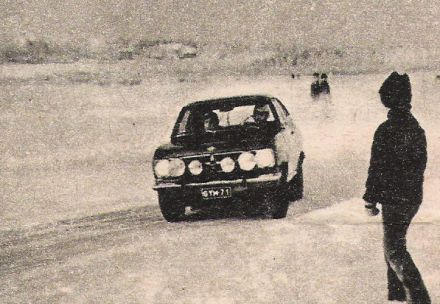 7 Arctic Rally.  3-6.02.1972r.