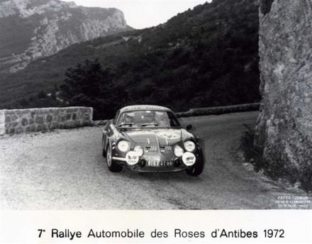7 Rally Roses d'Antibes. 7 eliminacja.  3-4.06.1972r.