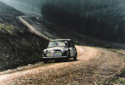 11 Welsh International Rally.  12-14.05.1972r.