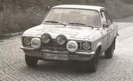 Wolf Giese i Wolf Heing – Opel Ascona 16.