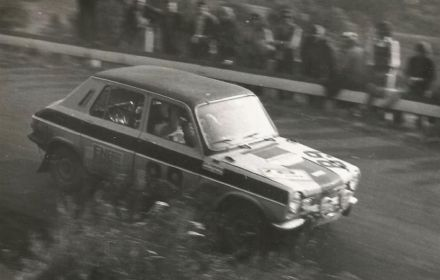 Helmut Brede i Christof Oldenburg – Simca 1100 Ti.