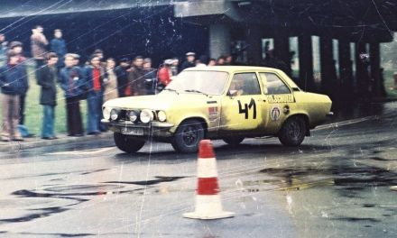 Wolf Giese i Ginther Scheffel – Opel Ascona 16S.