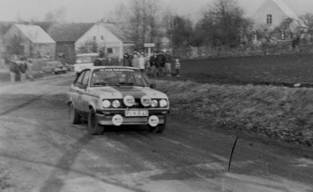 Hans Britth i Willy Andersson – Ford Escort RS 2000.