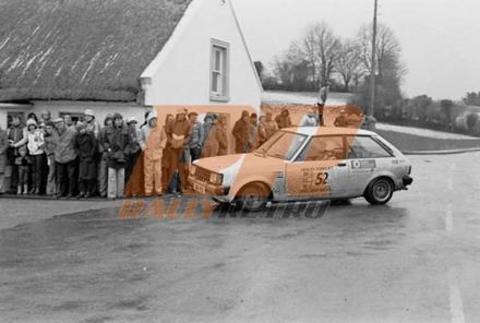 9 Galway International Rally (IRL). 4 eliminacja (2).   9-11.02.1979r.