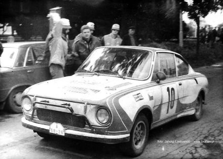 Vlastimil Havel i Jan Soukup – Škoda 130 RS.