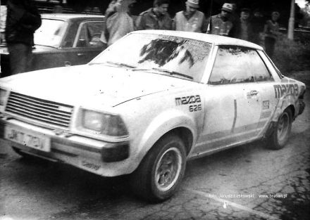 Willie Rutherford i Harris Bryan – Mazda 626.
