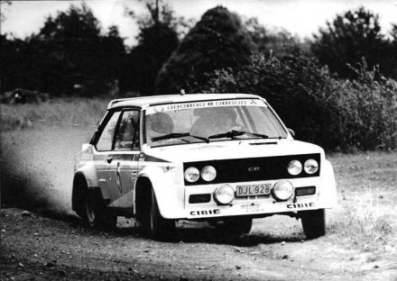 "J.M.Cols ""Didi"" i Willy Plas – Fiat 131 Abarth."