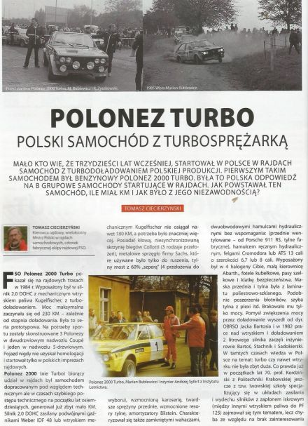 Polonez 2000 Turbo