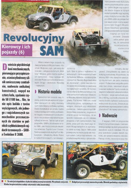 Sam Evolution II 3600