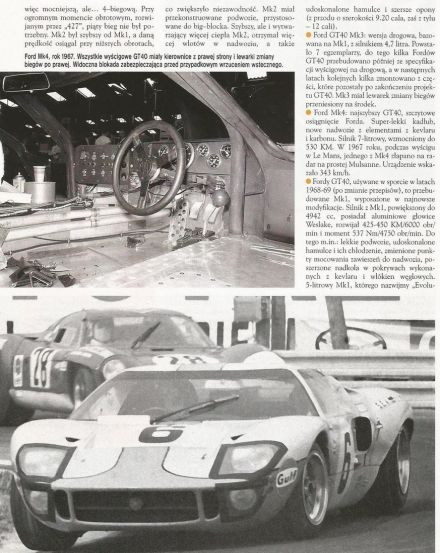 Ford GT 40.