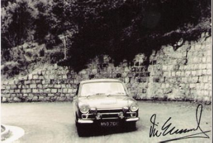 Vic Elford i E.Morton - Ford Cortina.